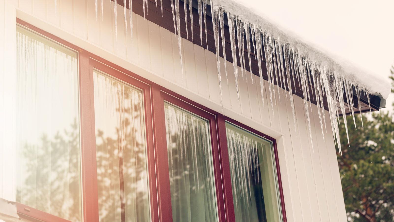 Ist Ihr Dach für Tauwetter gerüstet?