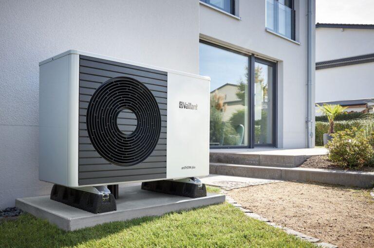 Luft/Wasser-Wärmepumpe arotherm von Vaillant